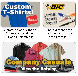 The Bubbling Creek Company Promotional Products And